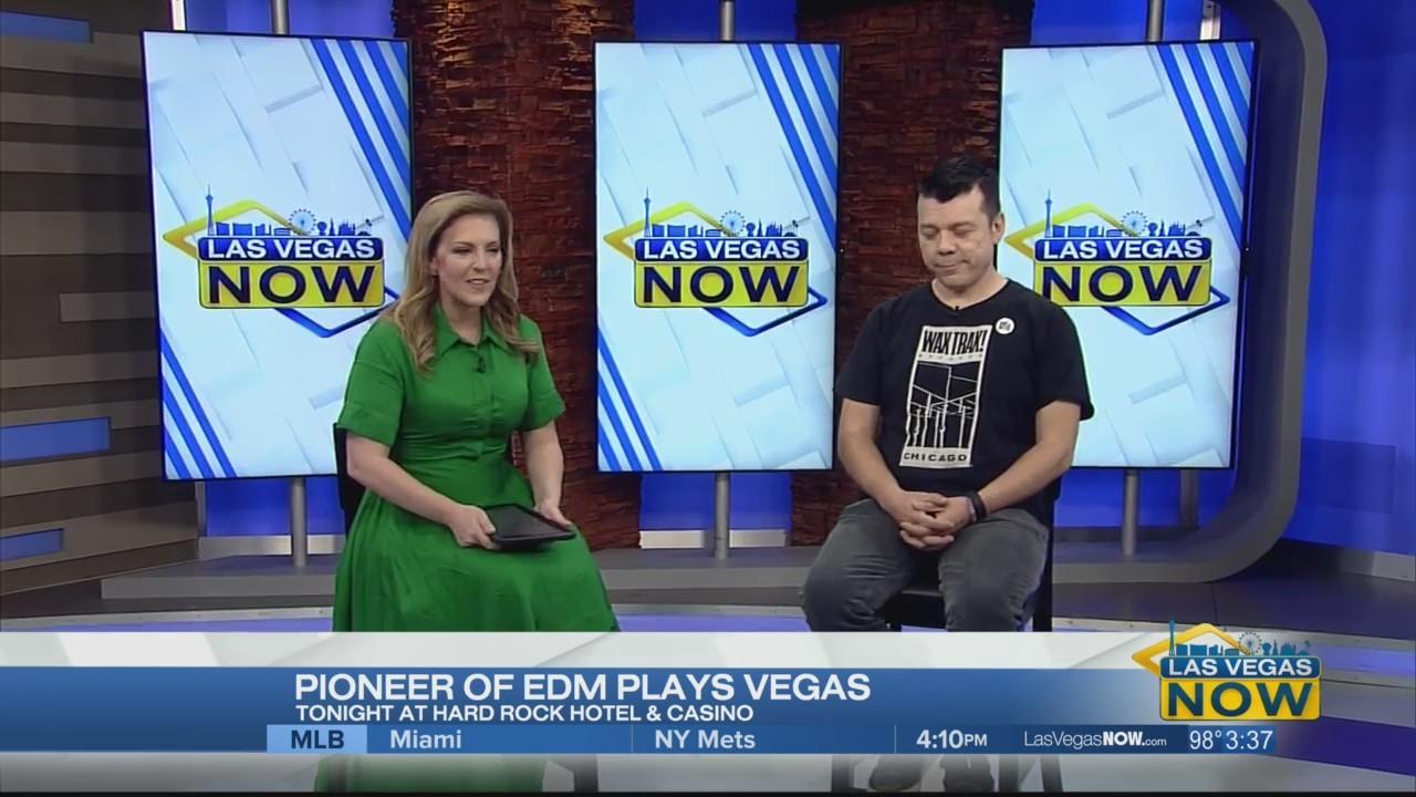 Scott Kirkland of the Crystal Method joins Las Vegas Now