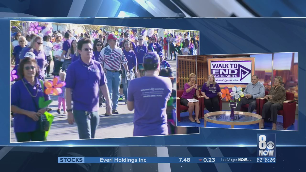 The Walk to End Alzheimer's is this Saturday.