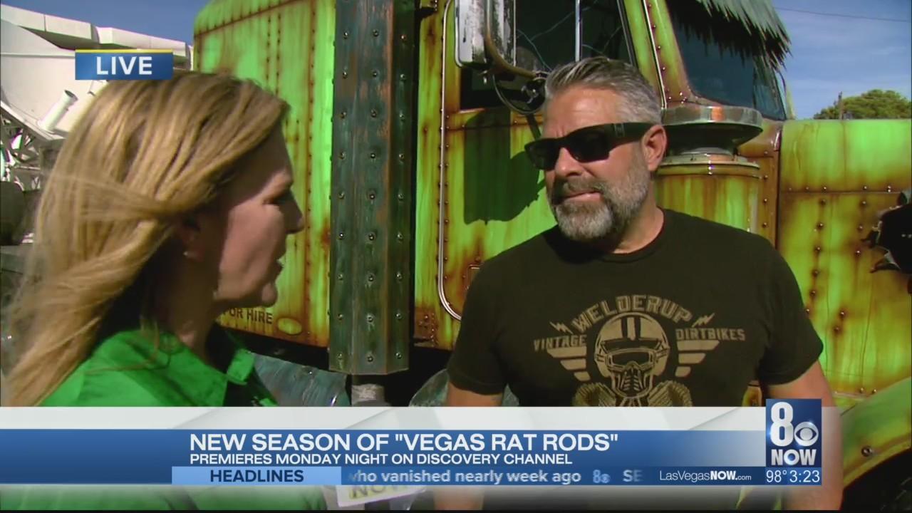 The new season of Vegas Rat Rods premieres Monday night