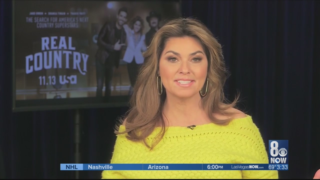 """Shania Twain chats about her new show """"Real Country"""""""