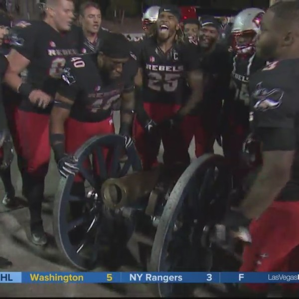 UNLV Rebels defeat Nevada Wolf Pack (29-34) in The Battle of the Cannon