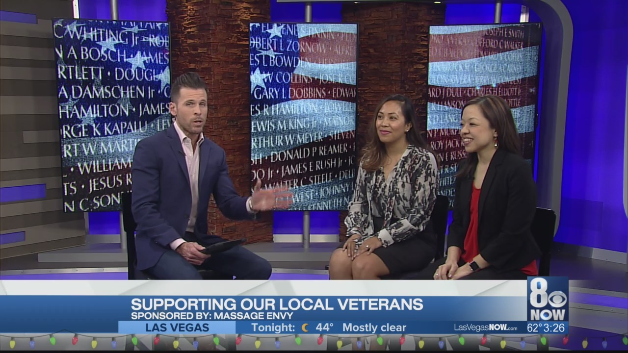 Massage Envy is supporting local veterans