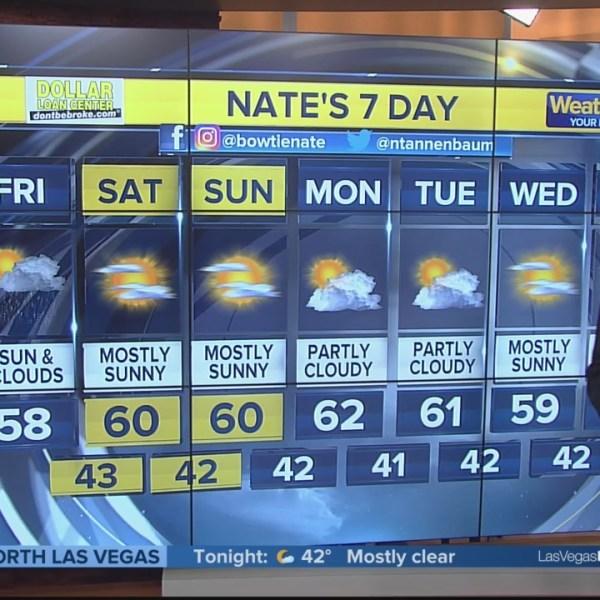Nate's 7-Day Forecast - Friday morning, Dec. 7, 2018