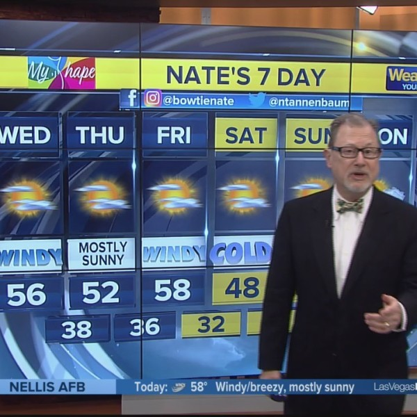 Nate's 7-Day Forecast - Wed. morning, Dec. 26, 2018
