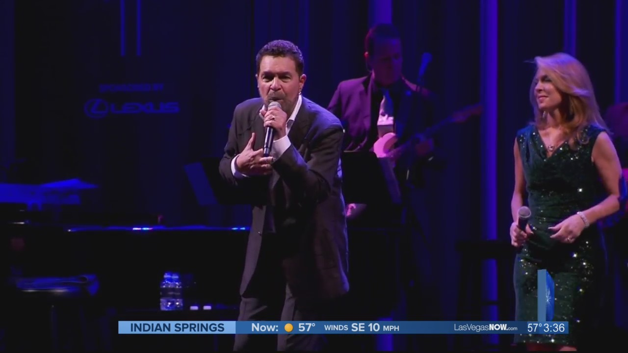 Singer Clint Holmes stops by Las Vegas Now