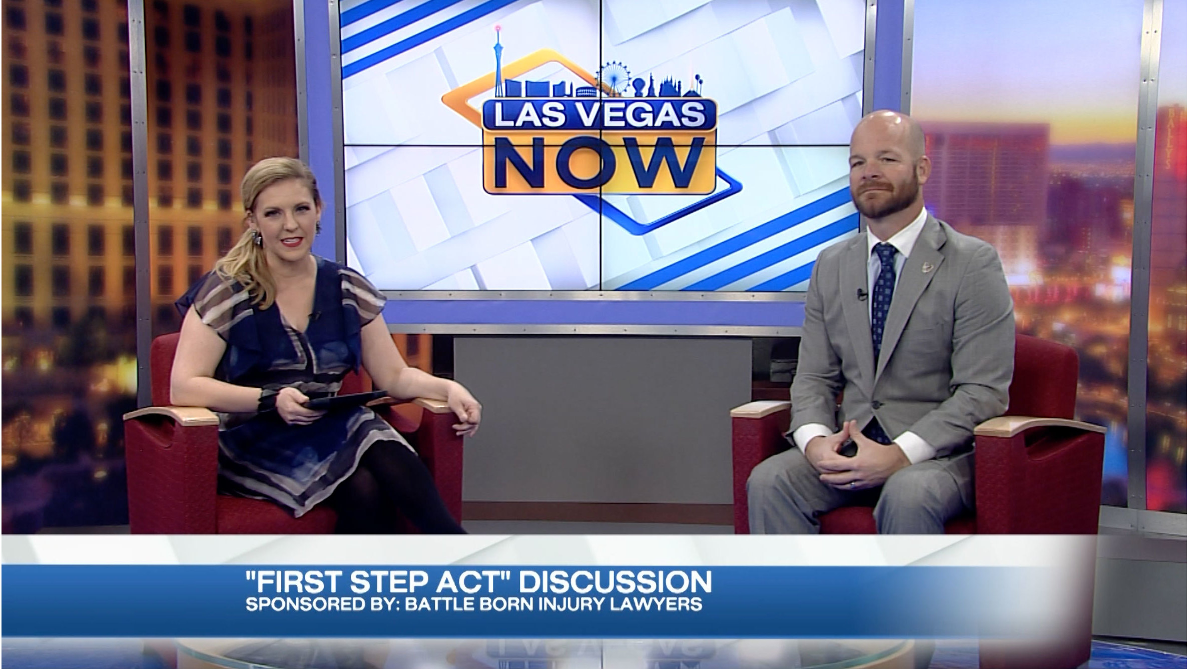 "Battle Born Lawyers on the ""First Steps"" program"