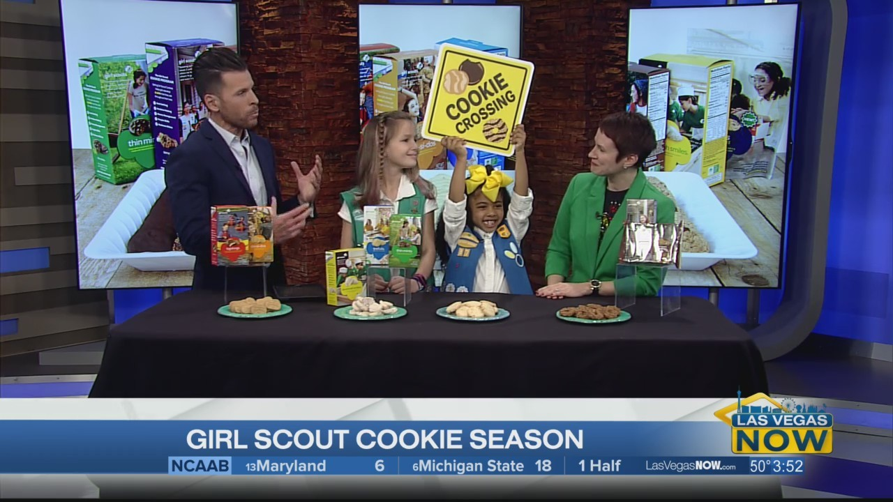 Girl Scout Cookie season is underway