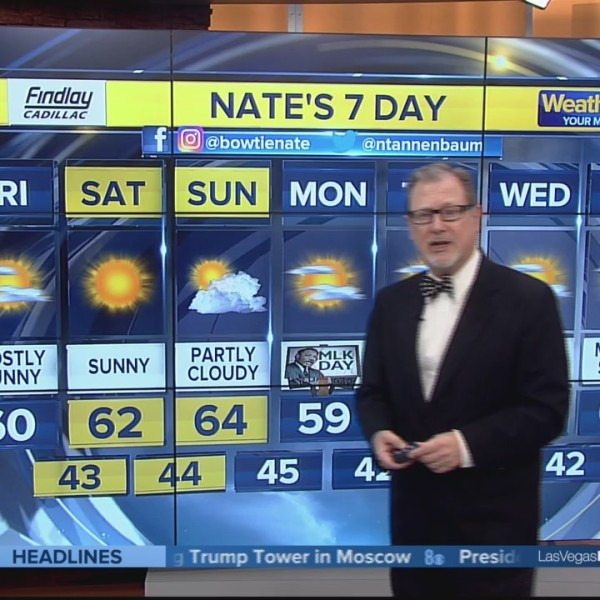 Nate's 7-Day Forecast
