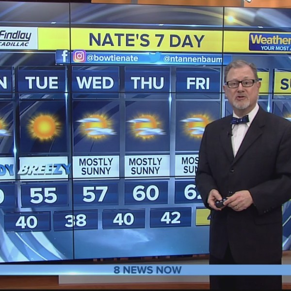 Nate's 7-Day Forecast - Mon., Jan. 21, 2019