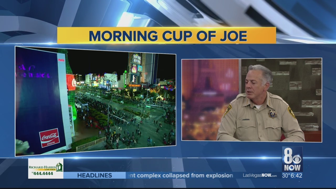 Sheriff Joe Lombardo rings in the new year on Good Day