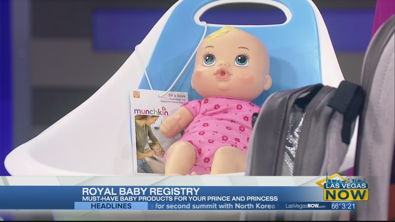 Creating a royal baby registry