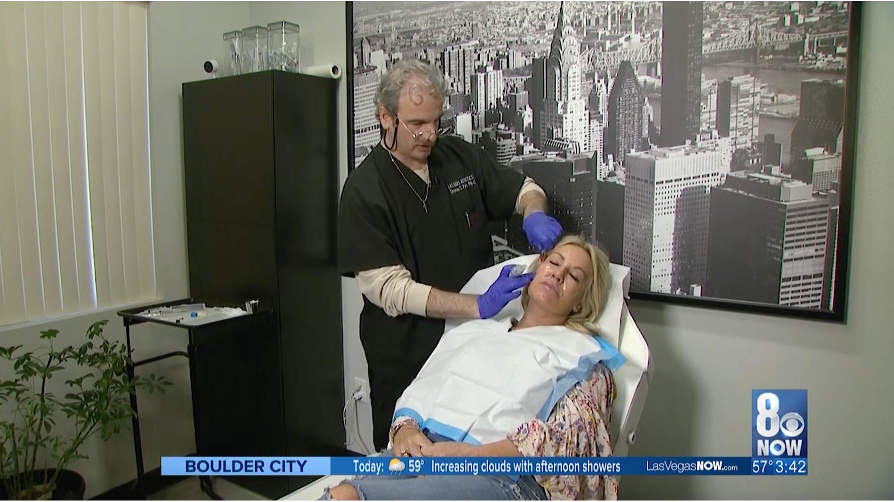 Inside the procedure room with Las Vegas AESTHETICS