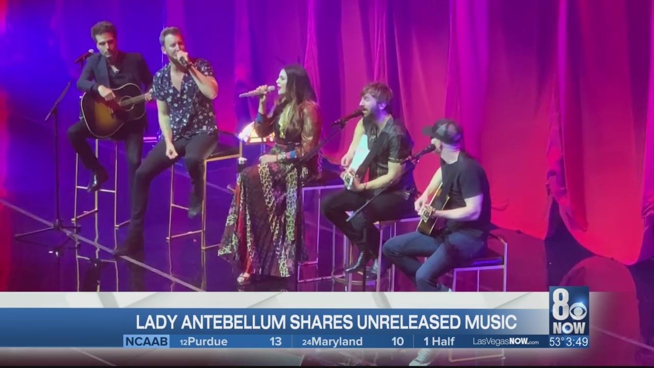 Lady Antebellum shares unreleased music