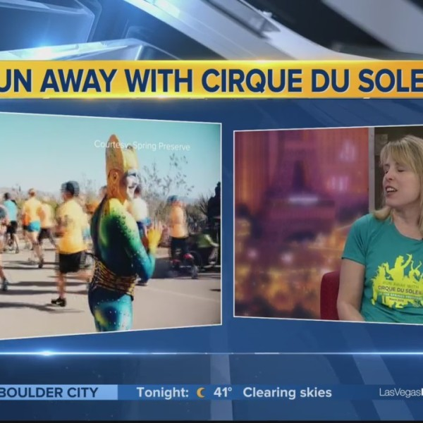 Living Green: Run Away With Cirque du Soleil this weekend.