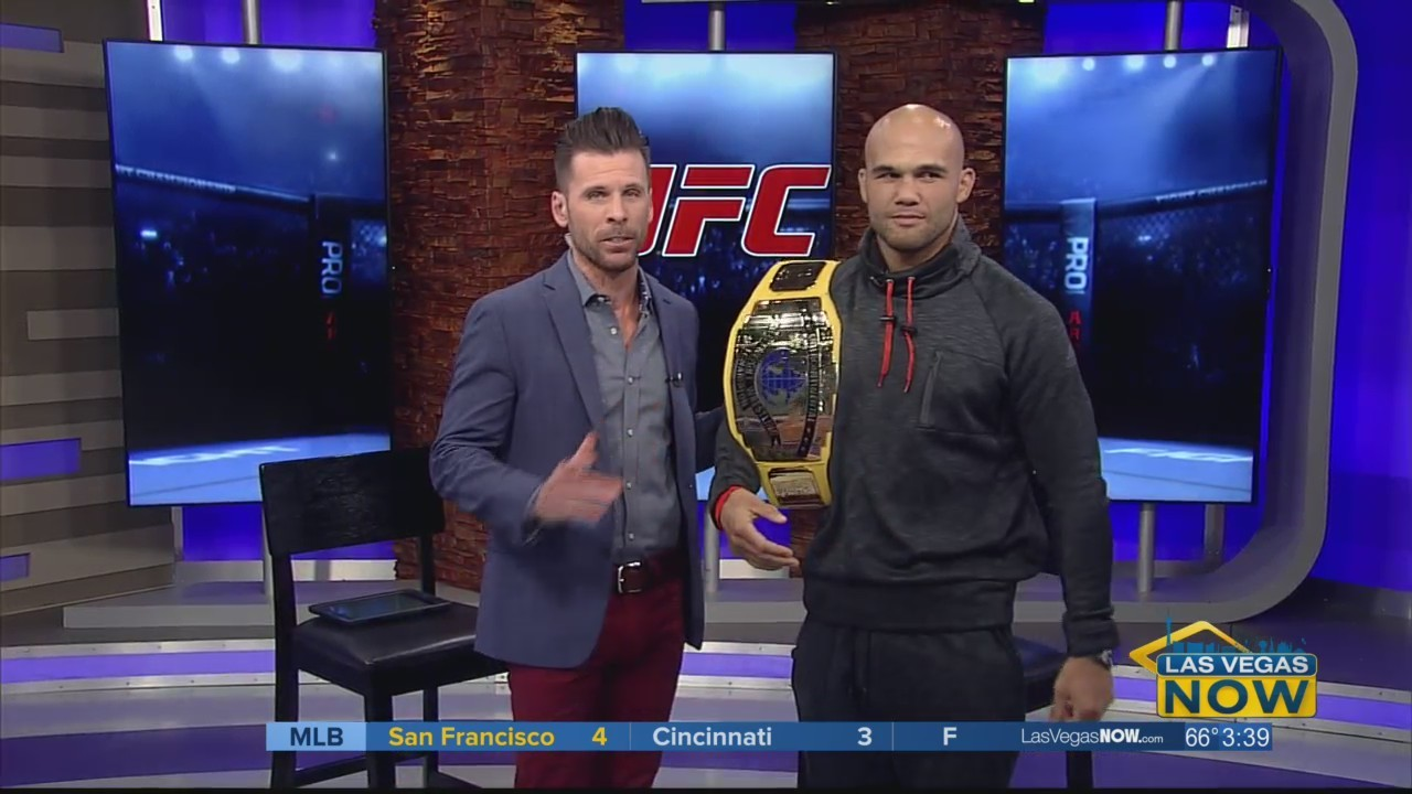 UFC star Robbie Lawler chats with JC ahead of UFC 235
