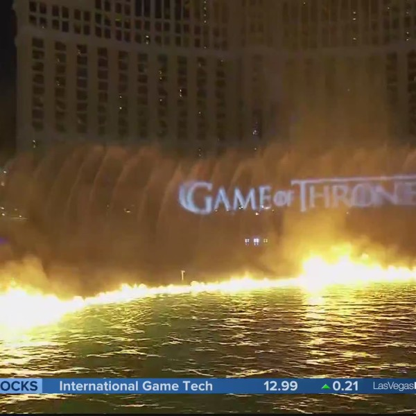 Bellagio debuts Game of Thrones fountain show