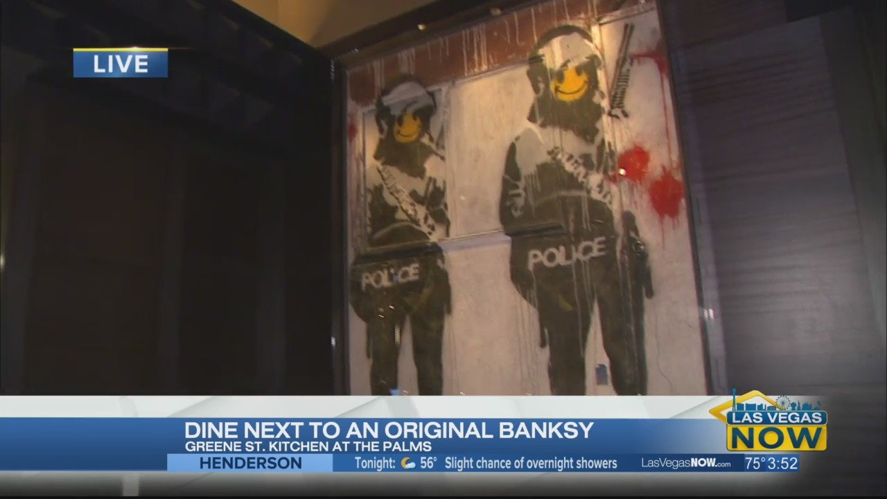 Dine next to an original Banksy at Green St. Kitchen
