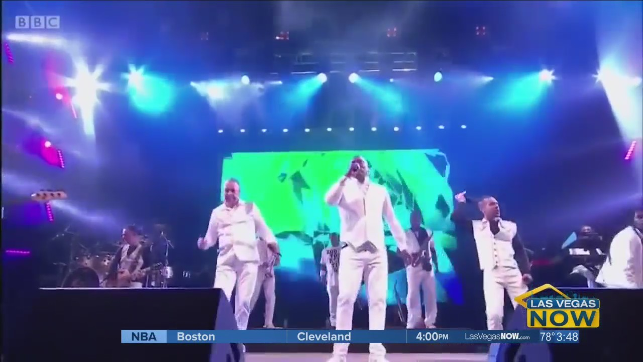 JC catches up with Earth, Wind, & Fire