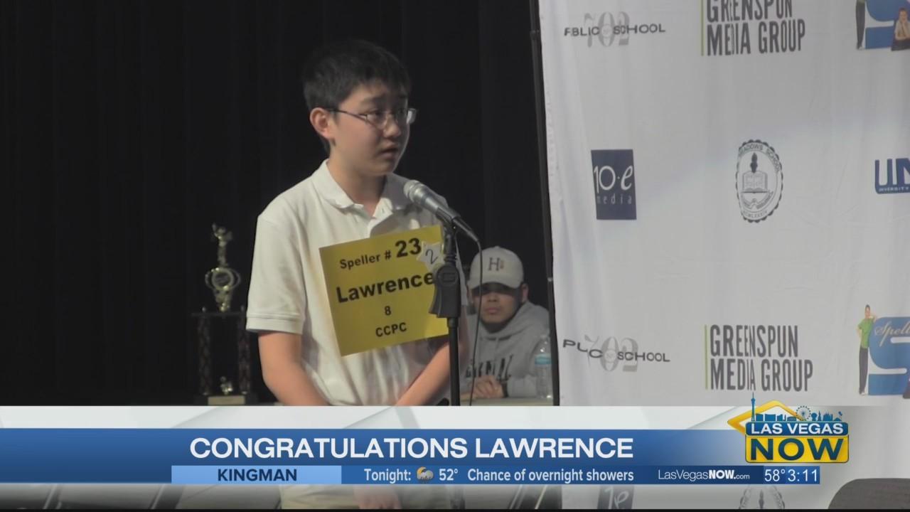 Meet Nevada's Spelling Bee champion