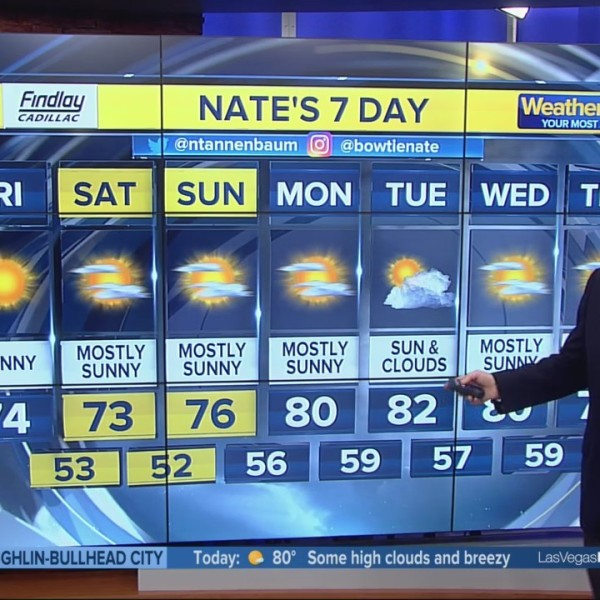 Nate's 7-Day Forecast - Thursday Evening Mar, 28, 2019