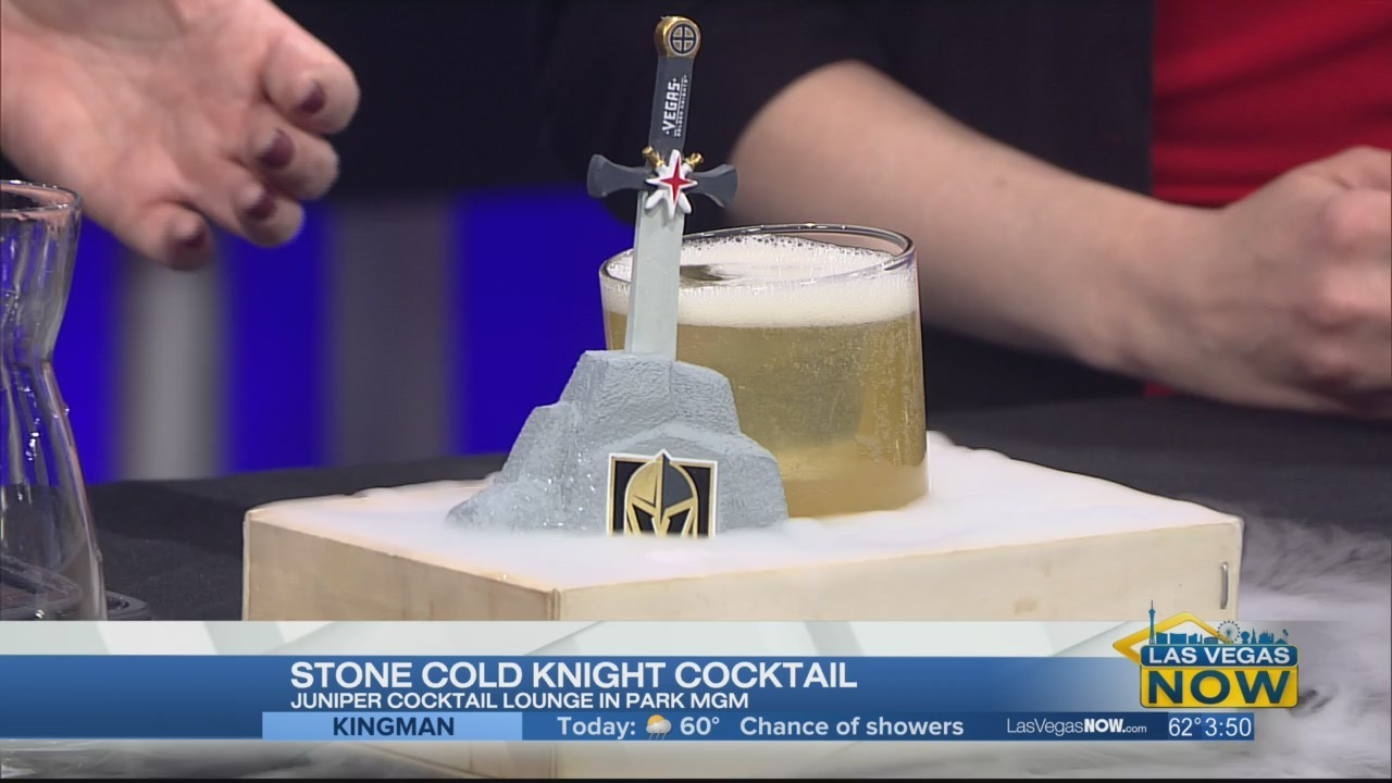 The Stone Cold Knight Cocktail with Juniper Cocktail Lounge