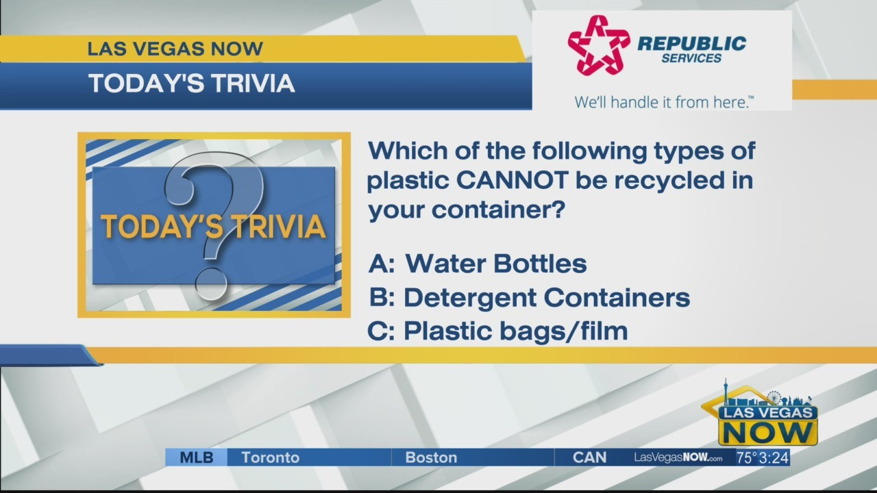 What types of plastic cannot be recycled?