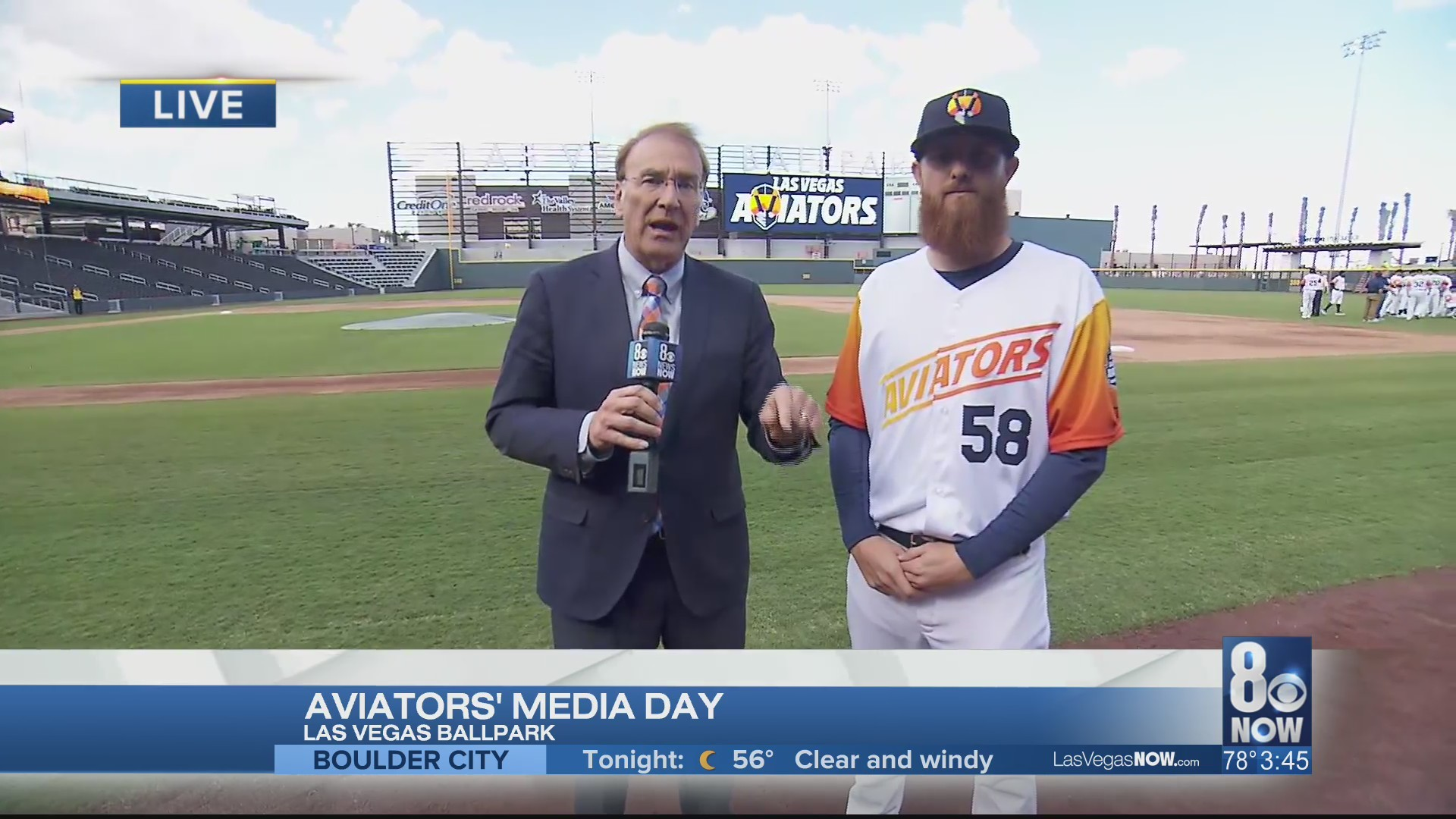 Chris Maathuis is live from the new Las Vegas Ballpark