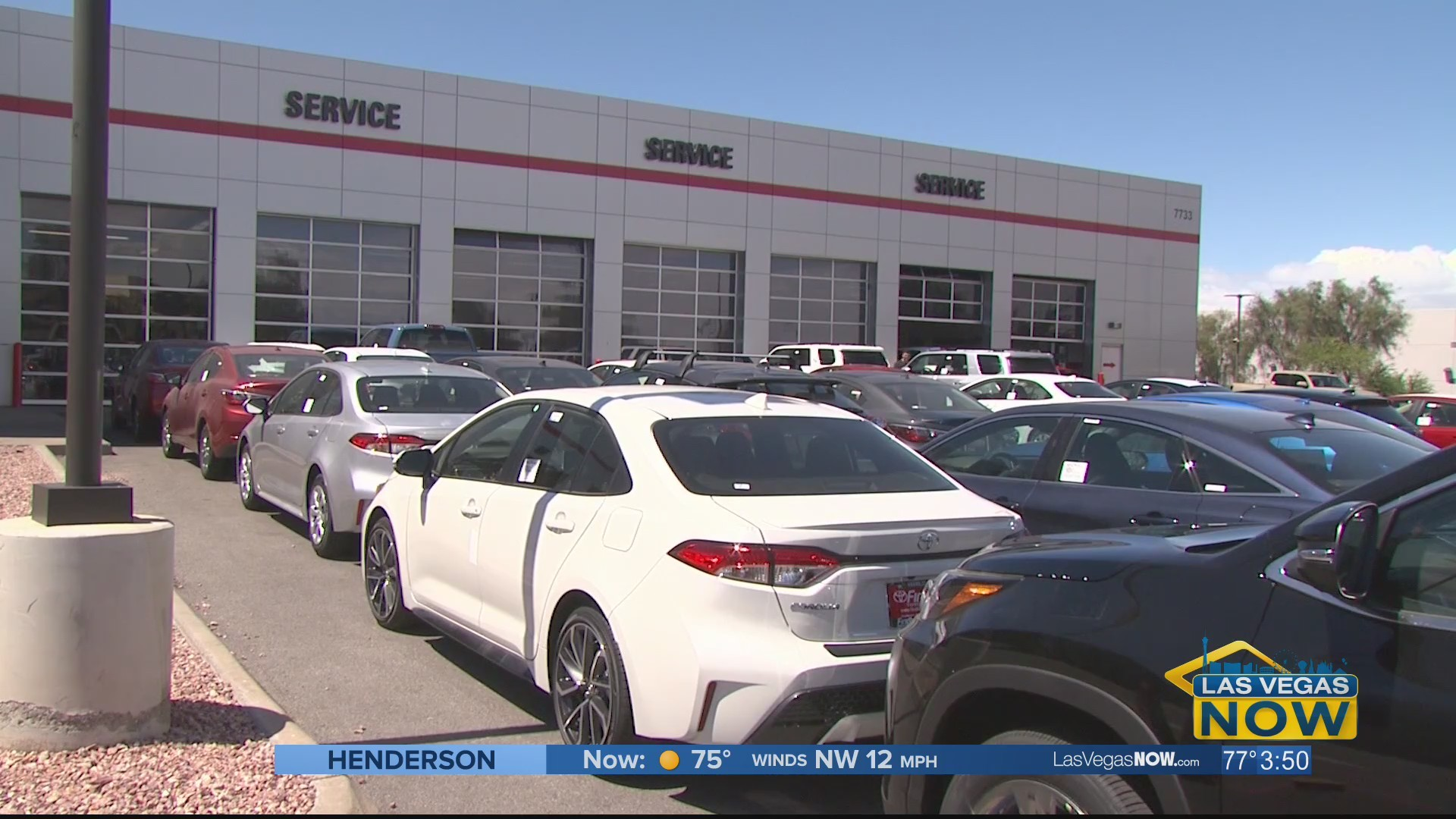 Findlay Toyota will do anything to service your car