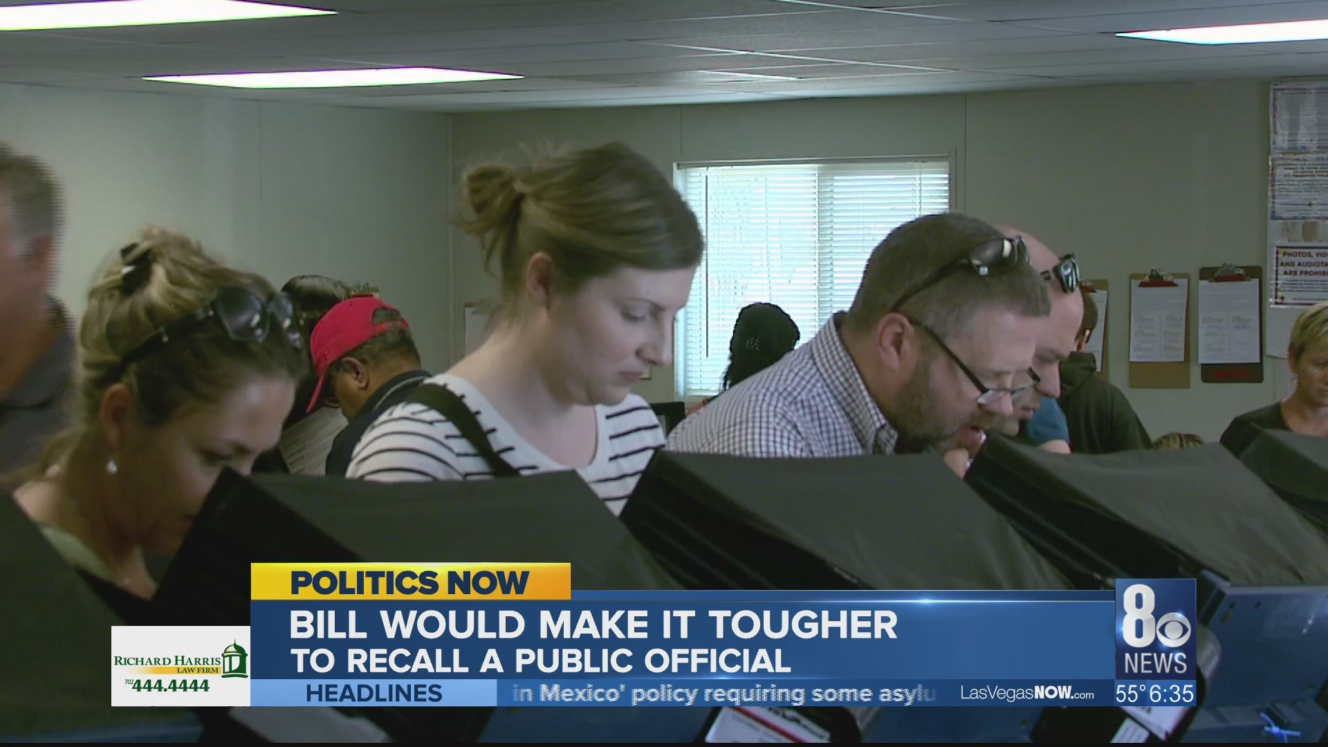 New bill would make it tough recalling public official