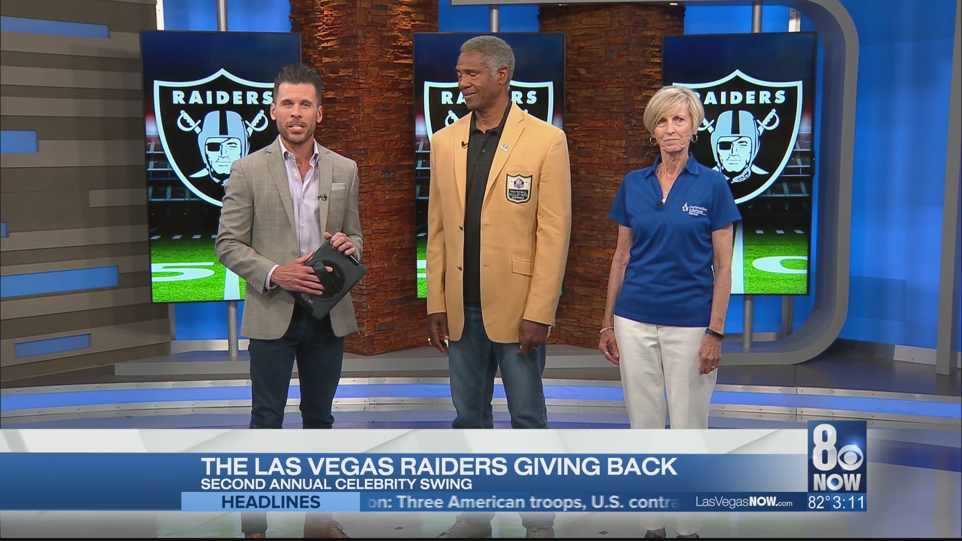The Raiders are giving back to Las Vegas