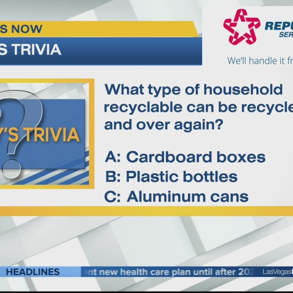 What items can be recycled over and over again?
