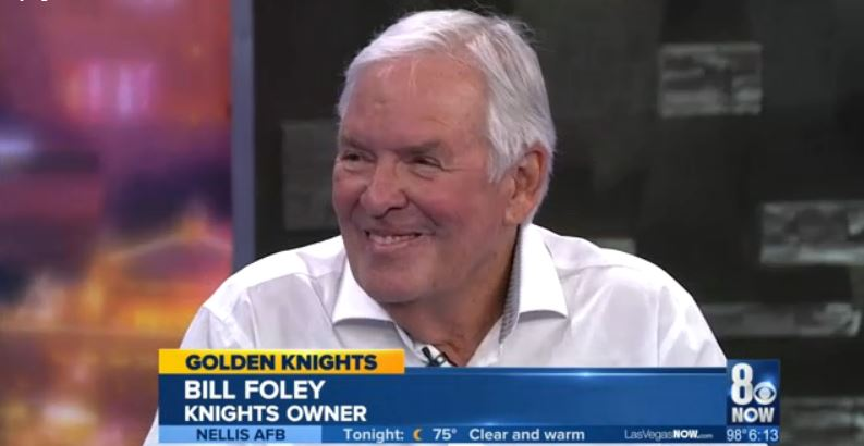 VIDEO: Golden Knights officially introduce new GM at press
