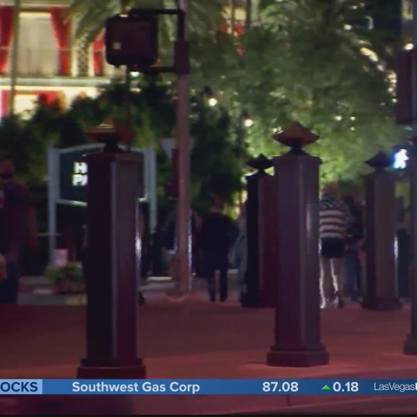 Bollard installation project resumes on the strip this week