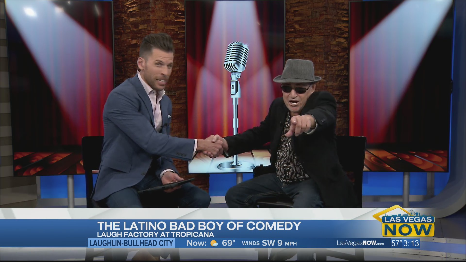 Catch the Latino bad boy of comedy Angel Salazar
