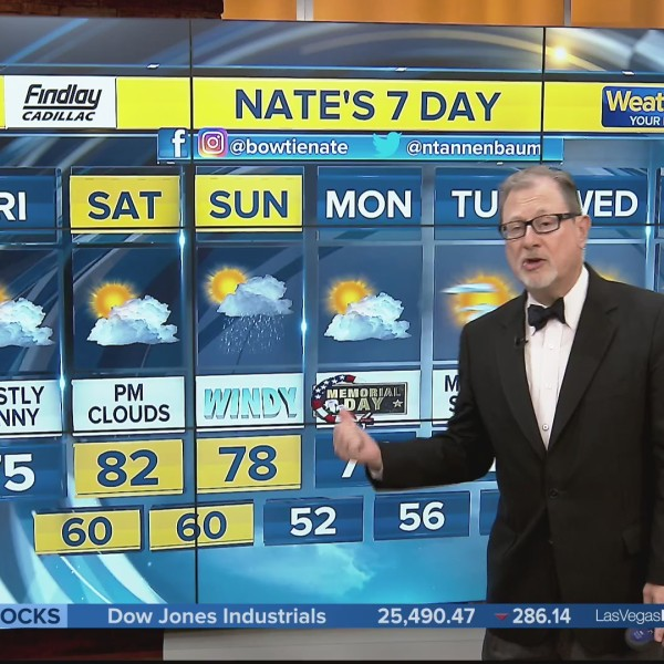 Nate's 7-Day Forecast - Friday Morning, May 24, 2019