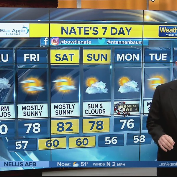 Nate's 7-Day Forecast - Thursday Morning, May 23, 2019