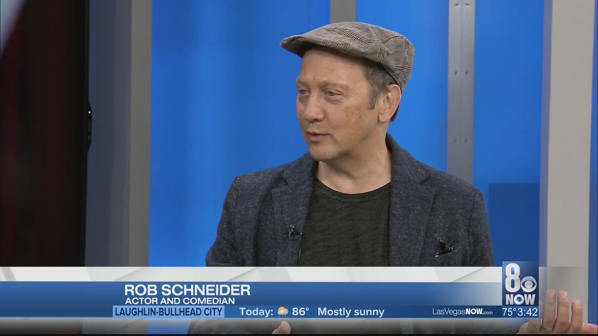 Rob Schneider visits Las Vegas Now