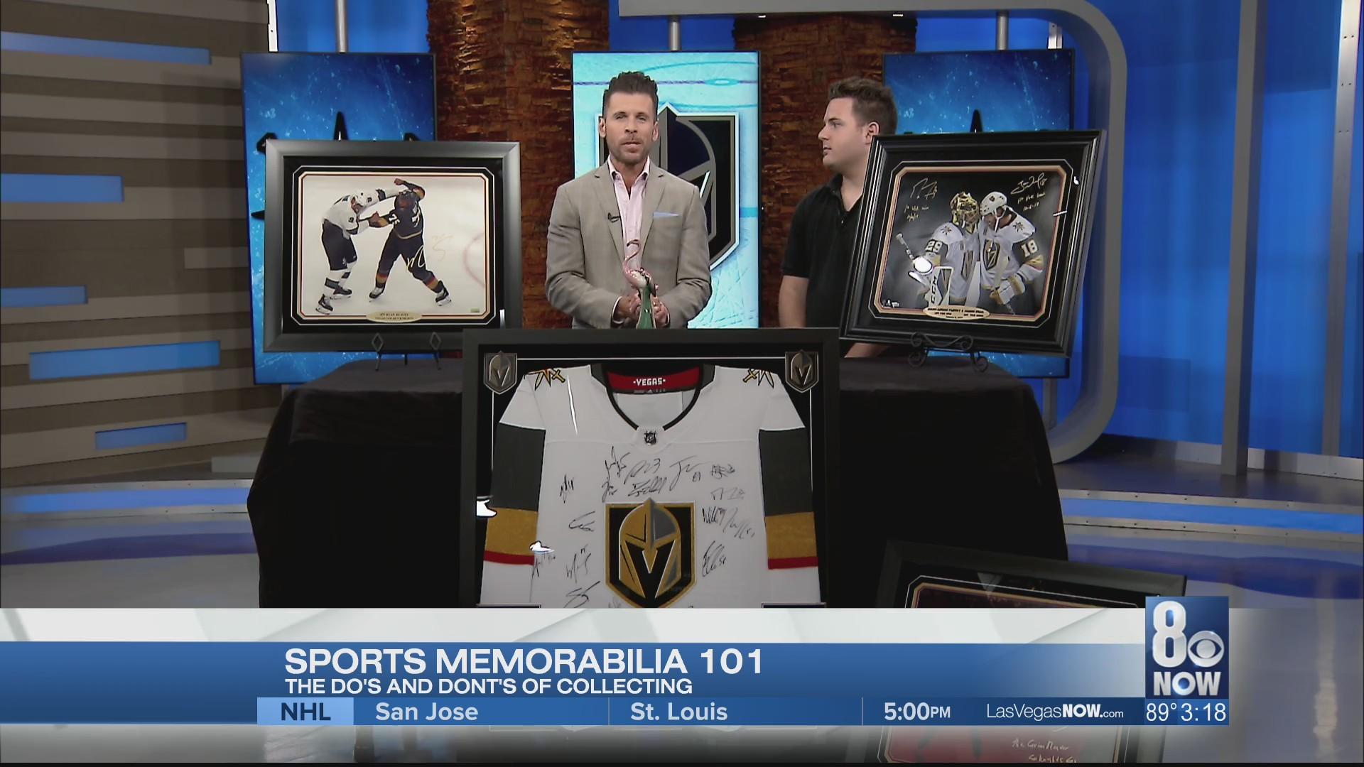 Sports memorabilia 101 with expert Tyler Feldman