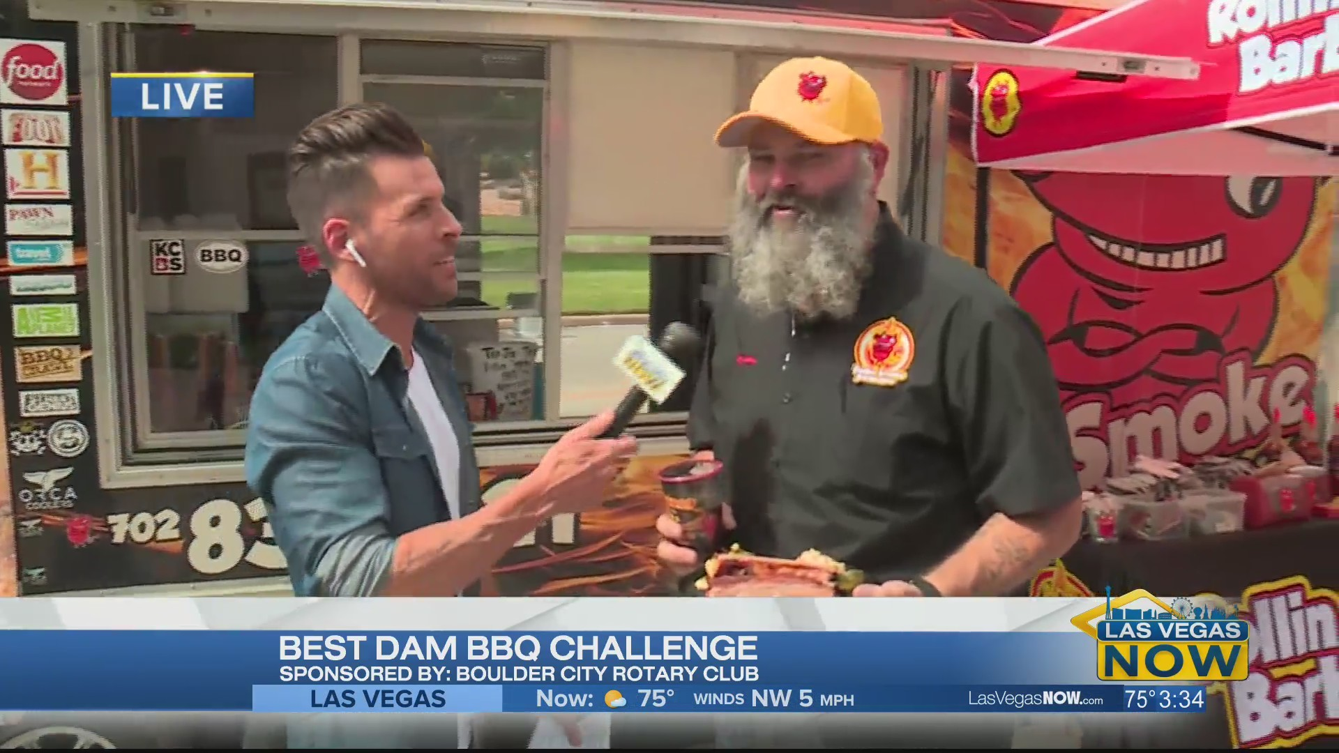 The Best Dam BBQ Challenge is a family fun event