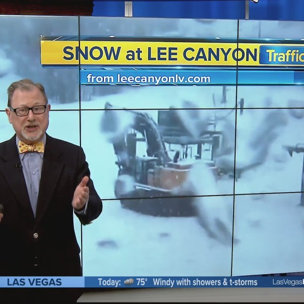 WIND ADVISORY for Las Vegas - and SNOW at Lee Canyon