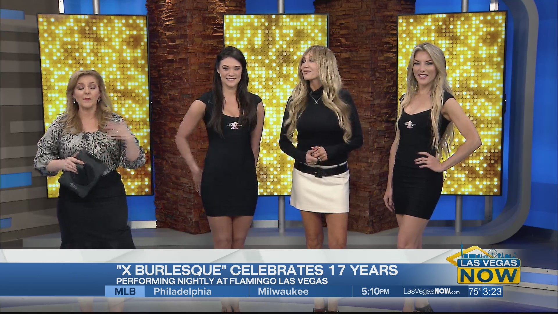 X Burlesque is celebrating their 17th anniversary