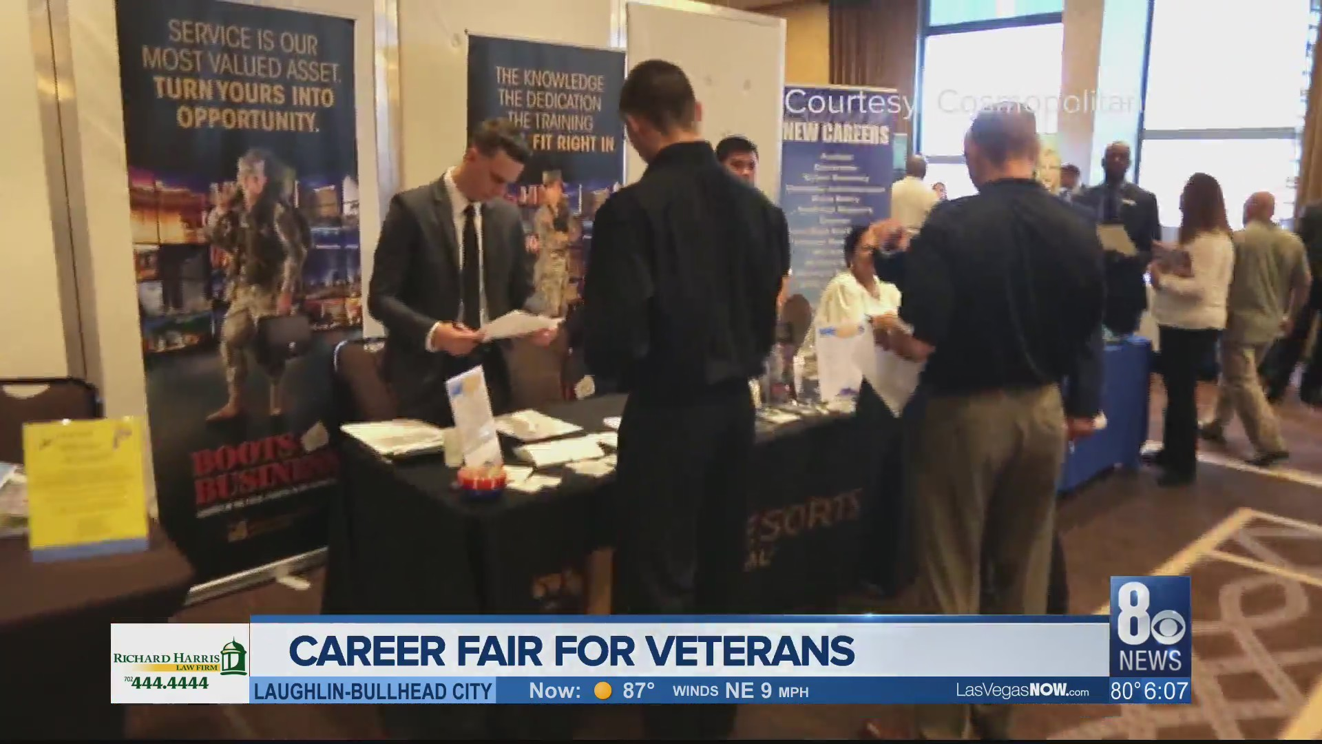 Career fair aims to give local veterans more opportunities
