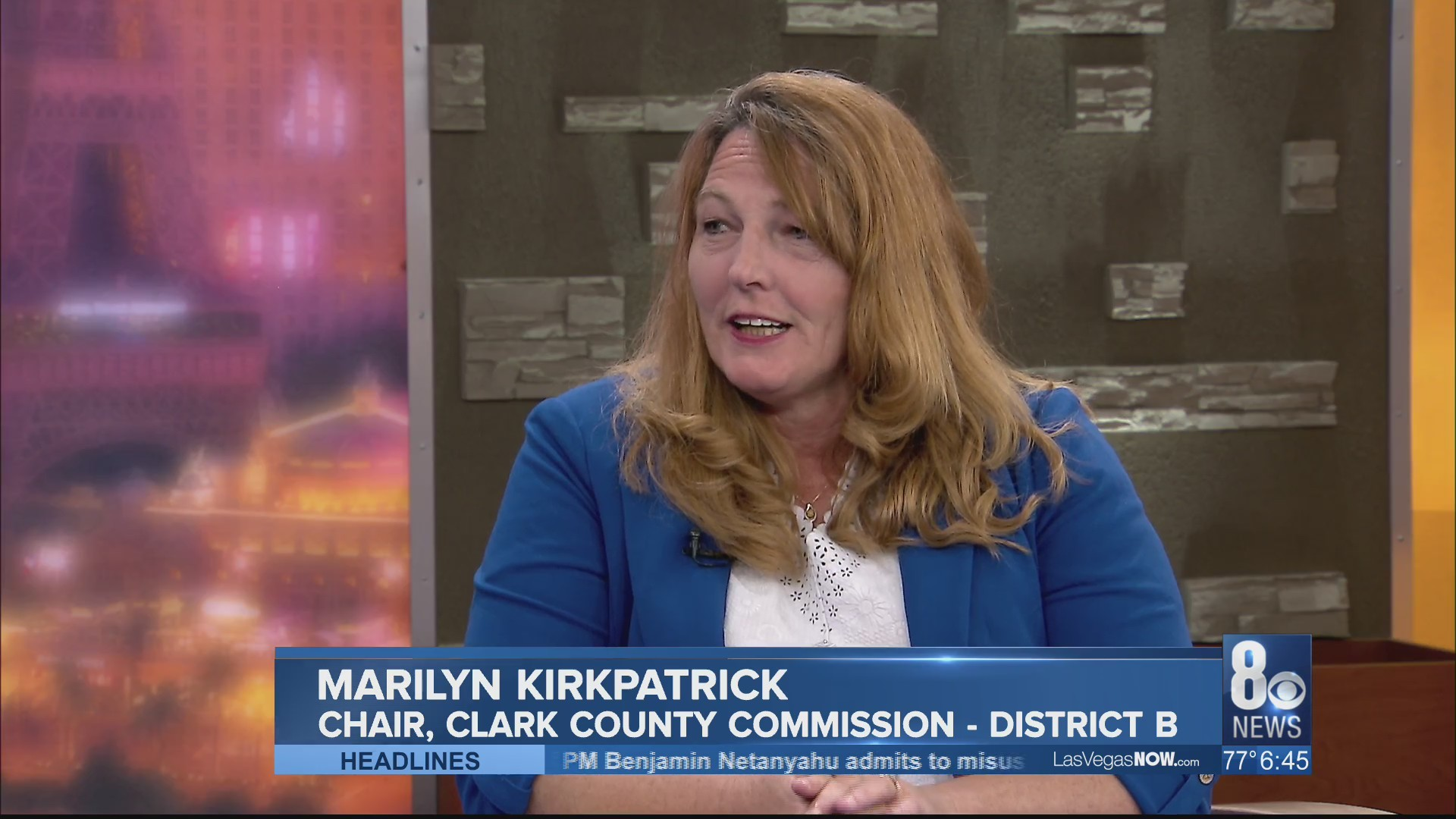"Clark County Commission Chair sits in for our ""Mayors"" segment"