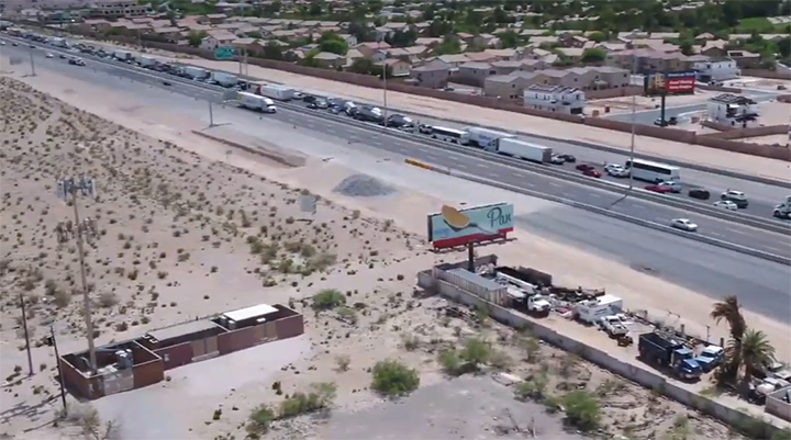 DRONE VIDEO: Major traffic delays on I-15 Southbound due to