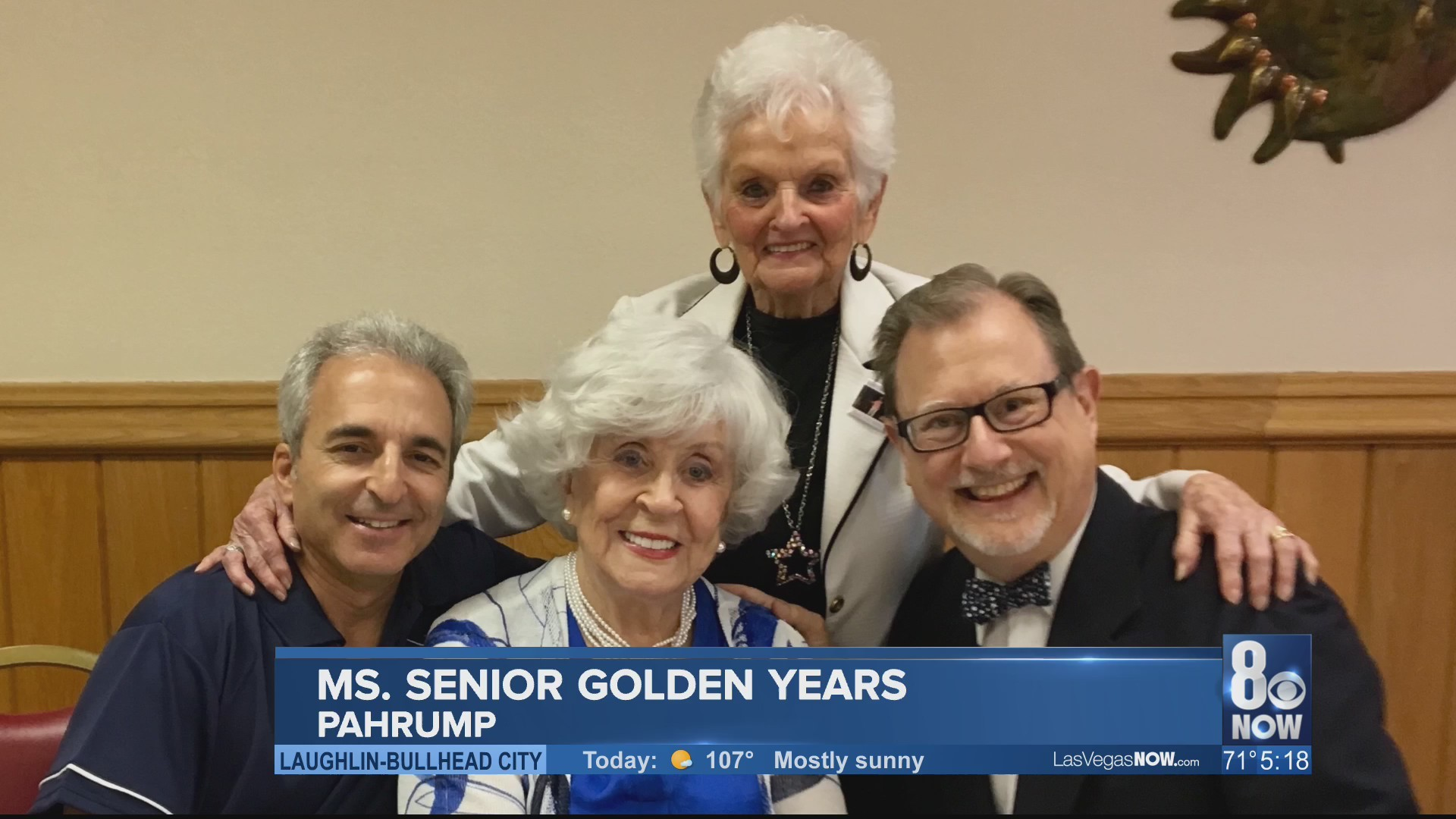 Ms Senior Golden Years Pageant in Pahrump