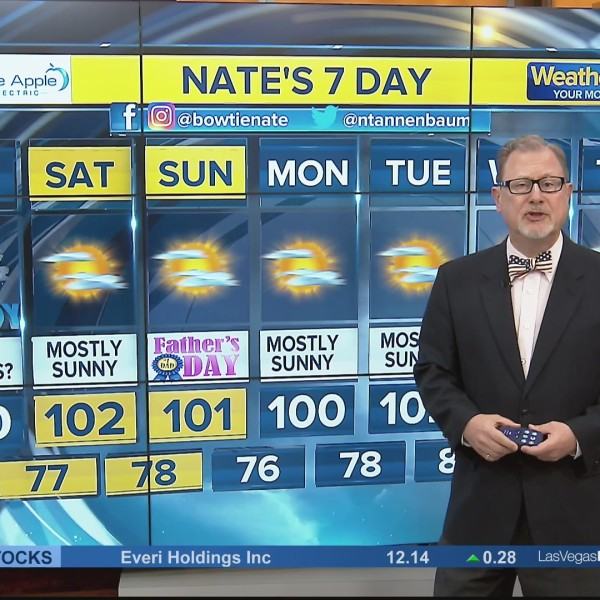 Nate's 7-Day Forecast - Friday morning, June 14, 2019