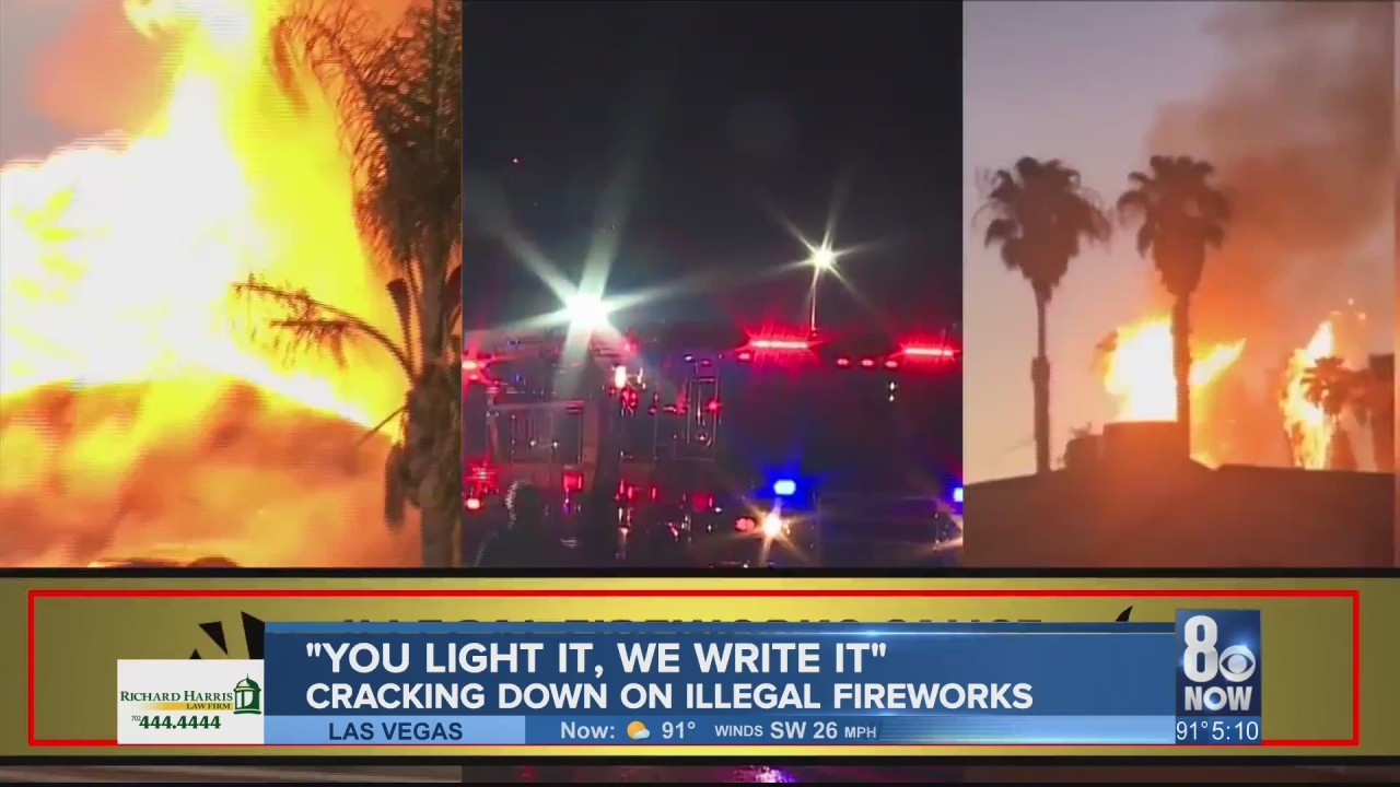 Sheriff has warning for those shooting off illegal fireworks