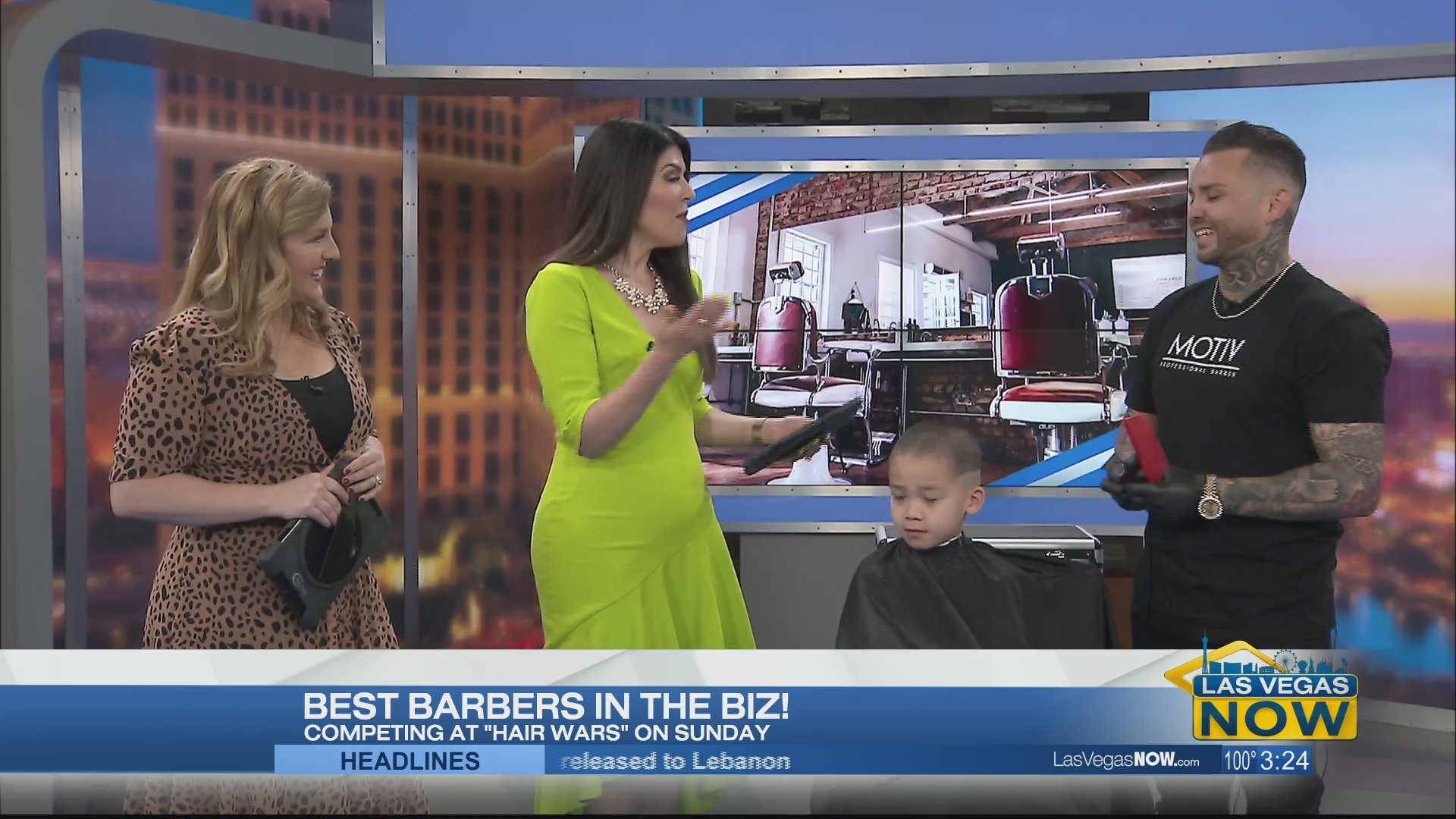 The best barbers in the biz head to Vegas