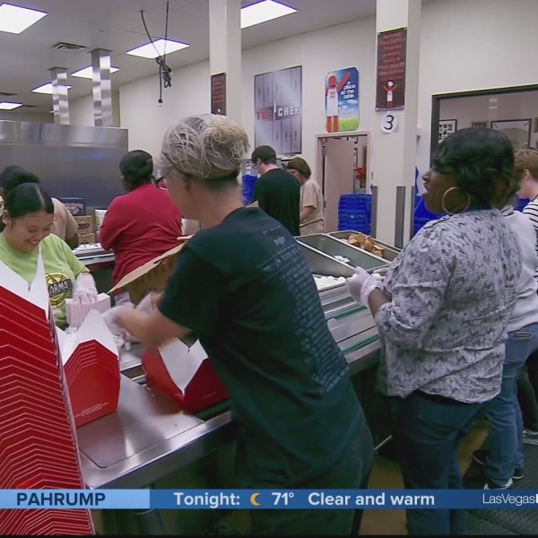 Three Square Food Bank helping students with summer lunches