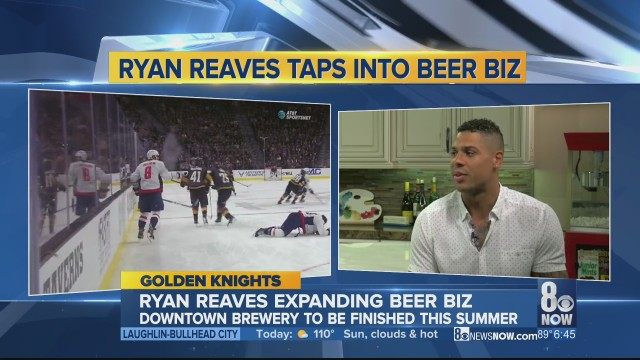 INTERVIEW: Golden Knights player Ryan Reaves taps into beer business